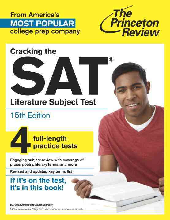 Princeton Review Cracking the Sat Literature Subject Test By Princeton Review (COR)